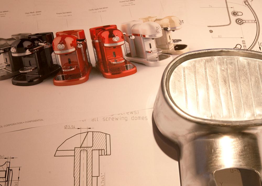 Design prodotto pressofusione